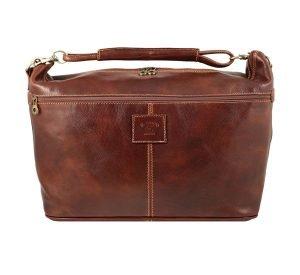 Bolso de viaje bolsa de viaje con asas de cuero