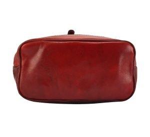 Mochila piel grande italiana mochila piel rojo