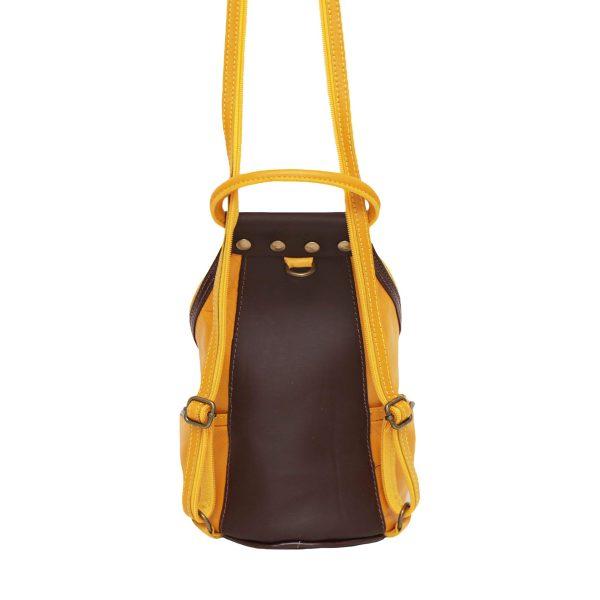 mochila mujer de piel