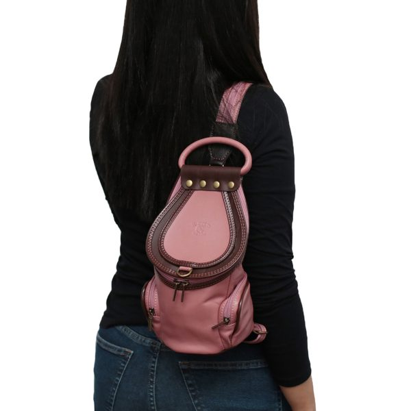 Nuevos Productos De Moda mochila para tu Oufit bolso piel donna Mochila en Piel de Anilina Plena Flor FABRICADO EN ITALIA mochila bolso piel donna