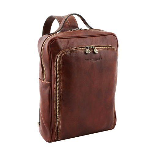mochila de cuero tuscany