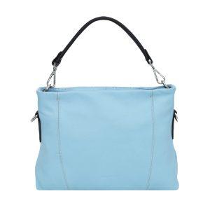 bolso bandolera de diseño italiano azul
