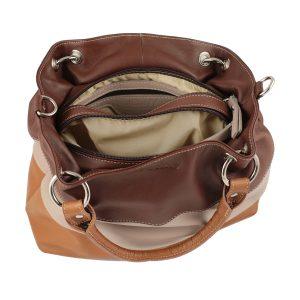 bolso de piel para mujer interior