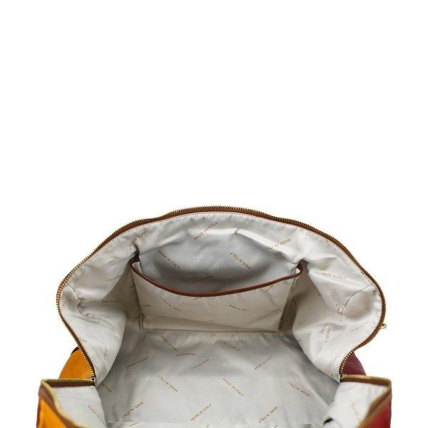 bolso viaje en piel vintage moderno