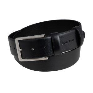 cinturon cuero hombre negro