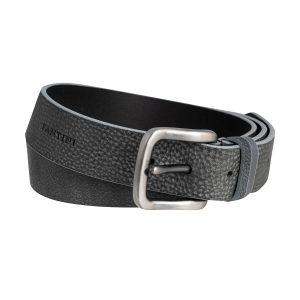 cinturon cuero hombre negro antracita moda complemento