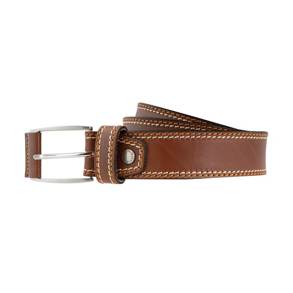 cinturon de cuero hombre natural moda