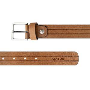 cinturon en cuero natural moda unisex