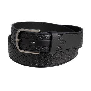 cinturón hombre en cuero negro