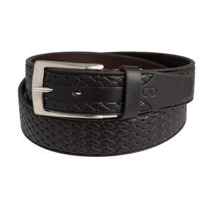 cinturones cuero hombre marrón oscuro