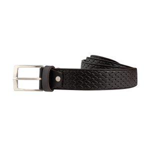 cinturones cuero hombre marrón oscuro complemento moda