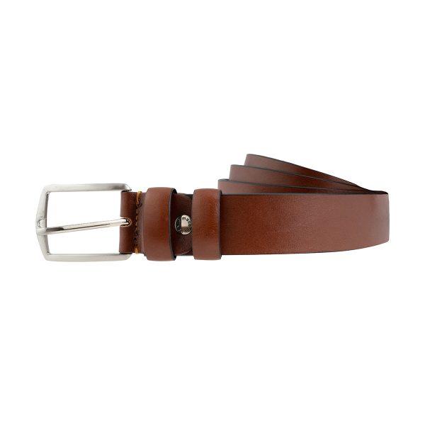 cinturones hombre cuero natural