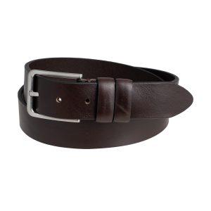 cinturones piel hombre marron