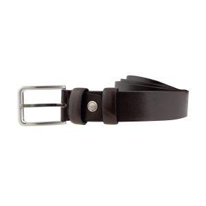 cinturones piel hombre marron moda