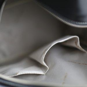 Mochila de Ciudad Vintage Piel Mujer interior mochila negro