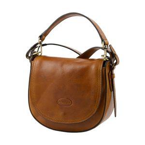 bolso de mano bandolera mujer piel miel