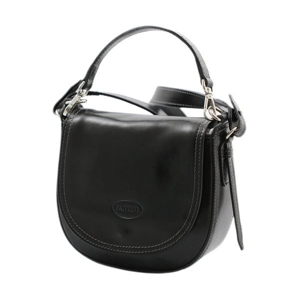 bolso de mano bandolera mujer piel negro