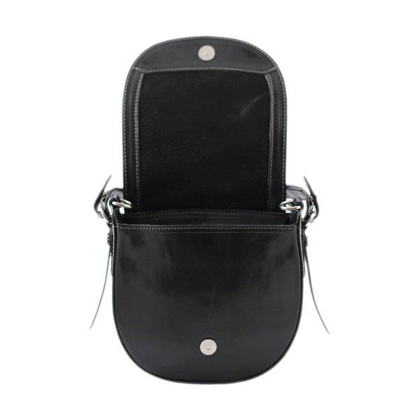 bolso de mano bandolera mujer piel negro bolso de cuero