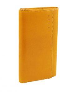 carteras mujer piel amarilla