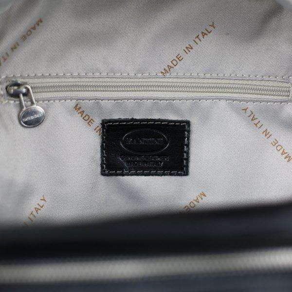 mochila de ciudad vintage piel cuero mochila