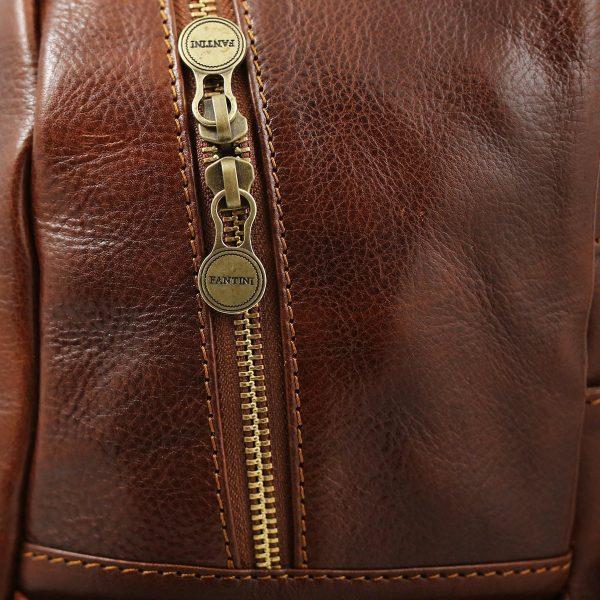 mochila de ciudad vintage piel mochila cuero unisex
