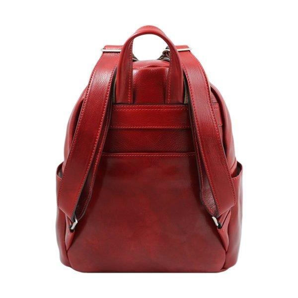 mochila de ciudad vintage piel mochila piel italiana