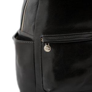 mochila de ciudad vintage piel mochilas en cuero