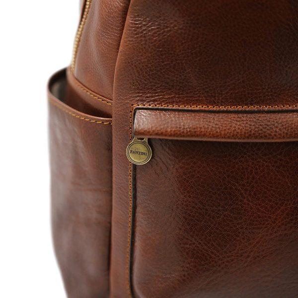 mochila de ciudad vintage piel unisex