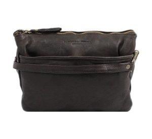 bolso cuero lavado vintage mujer marrón