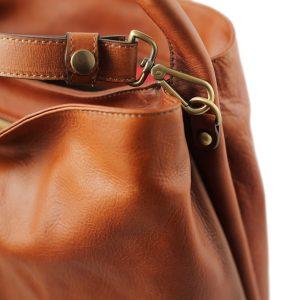 bolso mujer piel genuina natural correa