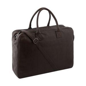 bolso de cuero multifuncional marrón fantini cuero