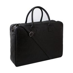 bolso de cuero multifuncional negro fantini cuero