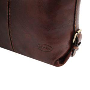 bolso piel mujer marrón fantini cuero