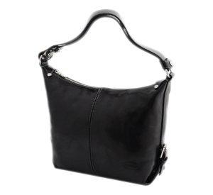 bolso piel mujer negro