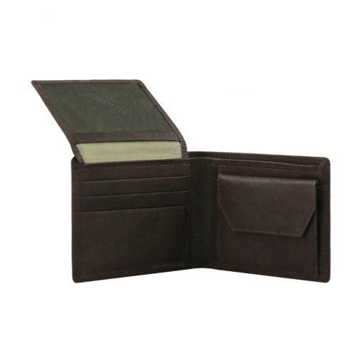 billeteras para caballeros de cuero