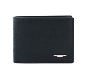 cartera billetera hombre azul fantini italy