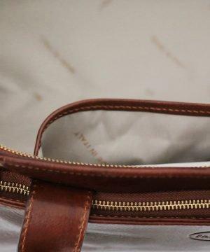 bolso de viaje cuero hombre