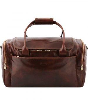 bolso de viaje cuero mujer
