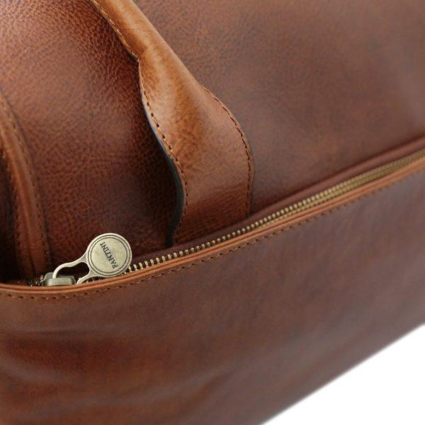 bolso de viaje cuero mujerbre