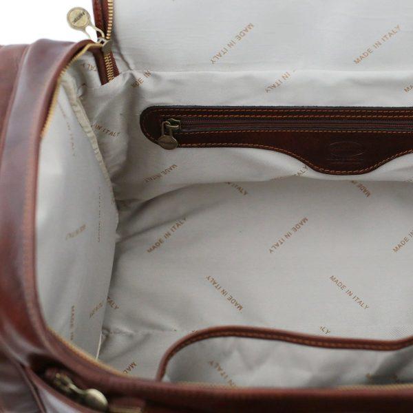 bolsa de viaje piel hombre