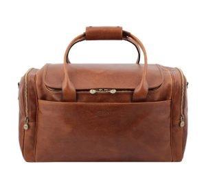 bolso de viaje hombre cuero