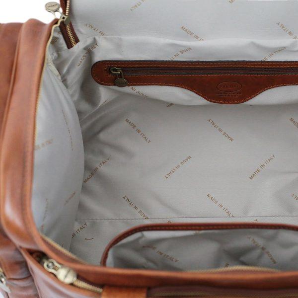 bolsos de viaje de cuero